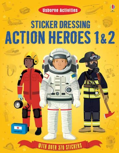 9781409566489: Sticker Dressing Action Heroes 1 and 2
