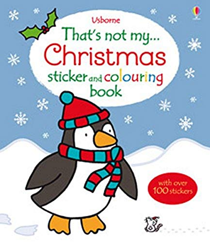 9781409566502: That's Not My Christmas Sticker and Colouring Book