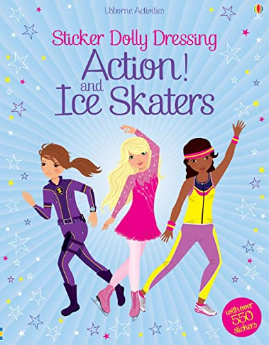 9781409566649: Sticker Dolly Dressing Action! & Ice Skaters