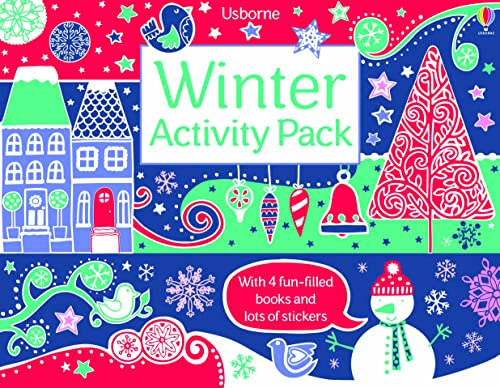 9781409567660: Winter Activitiy Pack: With 4 fun-filled books an lots of stickers