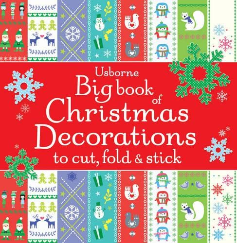 9781409570196: Big Book of Christmas Decorations to Cut, Fold & Stick