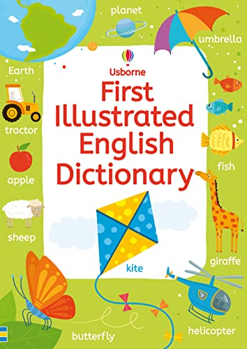 9781409570486: First Illustrated English Dictionary (Illustrated Dictionaries and Thesauruses)
