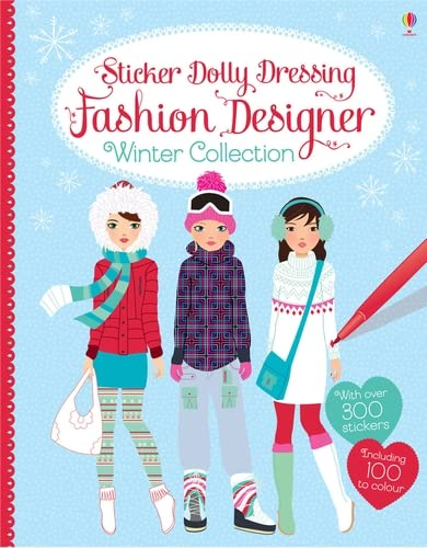 9781409570561: Sticker Dolly Dressing Fashion Designer. Winter Collection