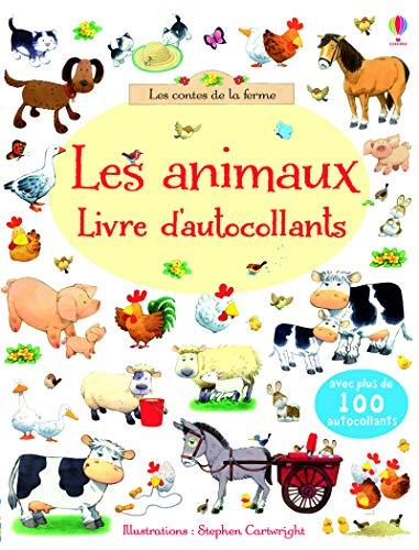 9781409570677: Les animaux : Livre d'autocollants (Les contes de la ferme)