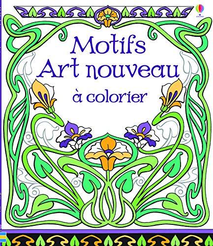 9781409570844: Motifs art nouveau � colorier