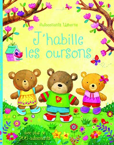9781409571209: J'habille les oursons - Autocollants Usborne