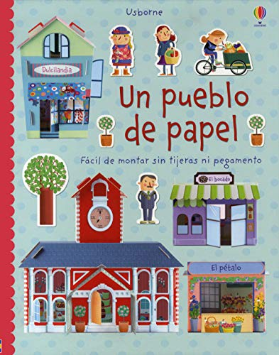 9781409573258: Un pueblo de papel