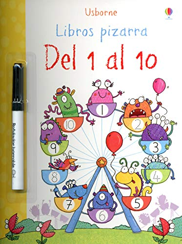 9781409573364: Del 1 al 10 - Libro pizarr