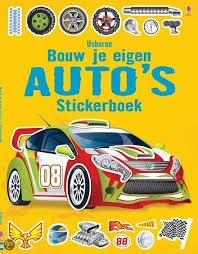 9781409573753: Stickerboek - Bouw je eigen auto's