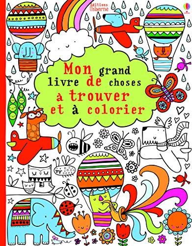 9781409576471: Mon grand livre de choses a trouver et a colorier