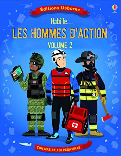 9781409576839: Habille... Dans le feu de l'action - Autocollants Usborne