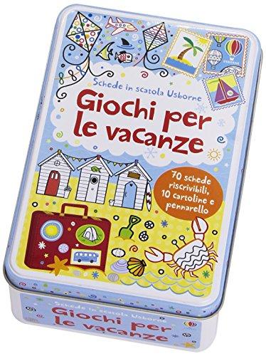 9781409577065: Giochi per le vacanze. Schede in scatola. Con gadget