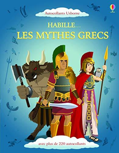 9781409577362: Habille... Les mythes grecs - Autocollants Usborne