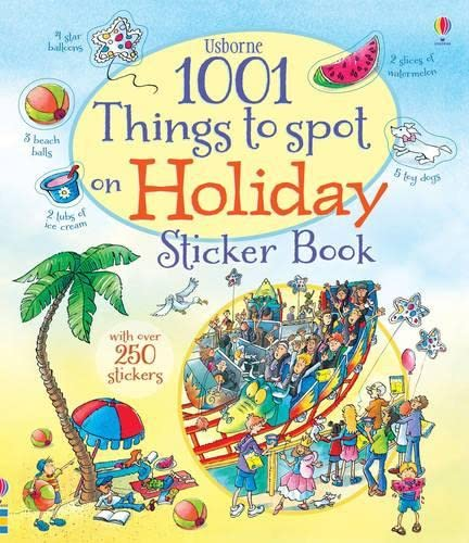 9781409577614: 1001 Things to Spot on Holiday Sticker Book