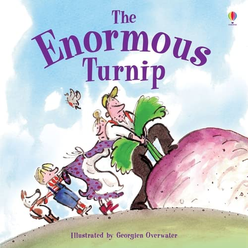 9781409580478: The Enormous Turnip (Usborne First Reading)