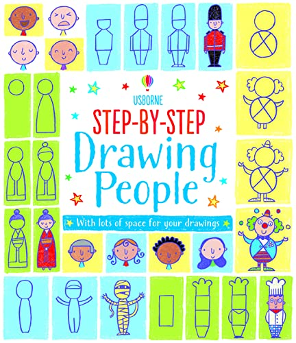 9781409581185: Step-by-Step Drawing People (Activity book)