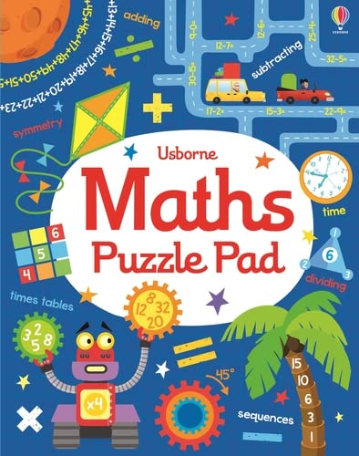 9781409581444: Maths Puzzles Pad