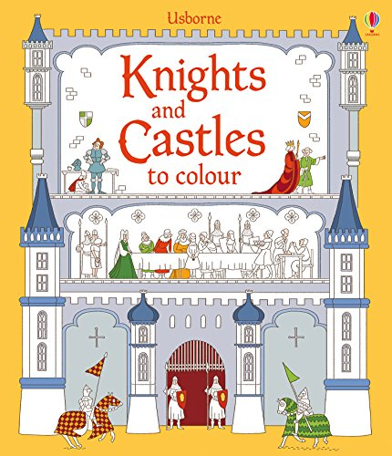 9781409582120: Knights and Castles to Colour (Usborne Colouring Books)
