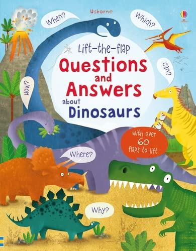 9781409582144: Lift-the-flap Questions and Answers about Dinosaurs