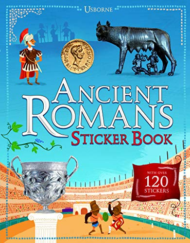 9781409582229: Ancient Romans Sticker Book