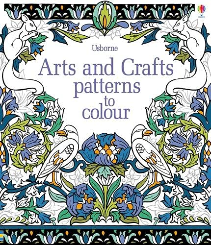 9781409582311: Arts & Crafts Patterns to Colour