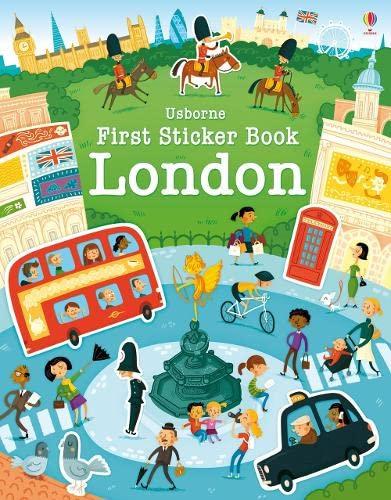 9781409582373: First Sticker Book London