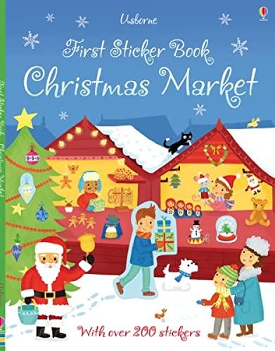 9781409582441: First Sticker Book. Christmas Market (First Sticker Books)