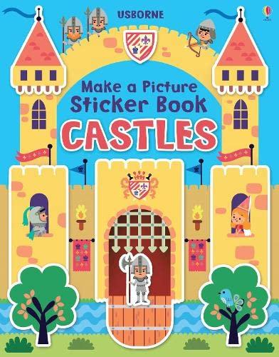 9781409582458: Make a Picture Sticker Book Castles (Make a Picture Sticker Books)
