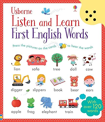 9781409582489: Listen and learn first english words: With over 120 words