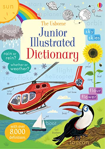 Junior Illustrated English Dictionary (Illustrated Dictionaries and Thesauruses): Hannah Wood