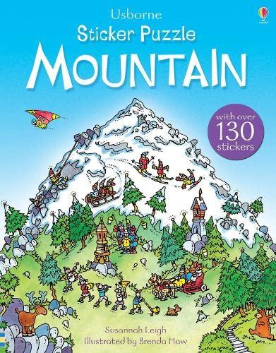 9781409583295: Sticker Puzzle Mountain (Sticker Puzzles)