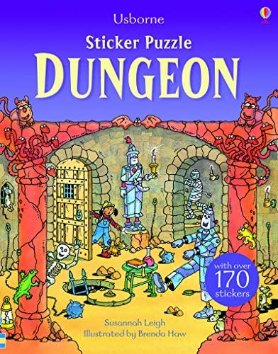 9781409583301: Sticker Puzzle Dungeon (Sticker Puzzles)