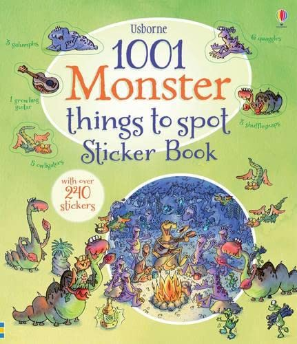 1001 Monster Things to Spot Sticker Book (1001 Things to Spot Sticker Books): Doherty, Gillian