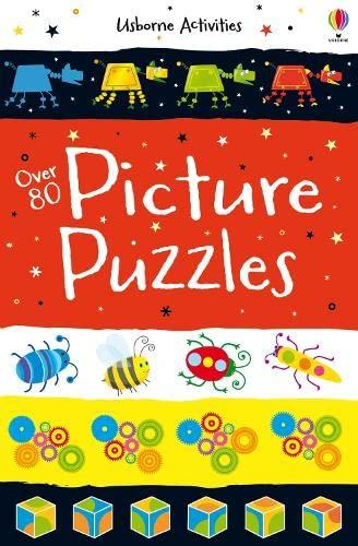 9781409584568: Over 80 Picture Puzzles (Usborne Puzzle Books)