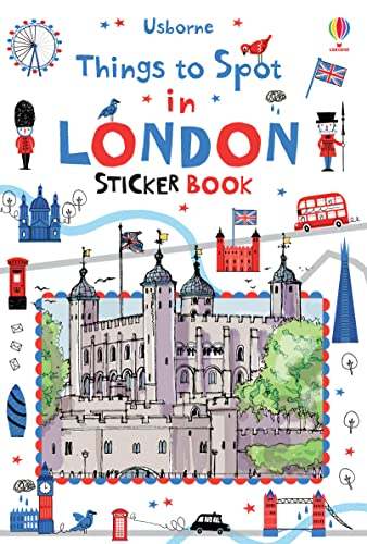 9781409586050: Things to Spot in London Sticker Book (Sticker Books)