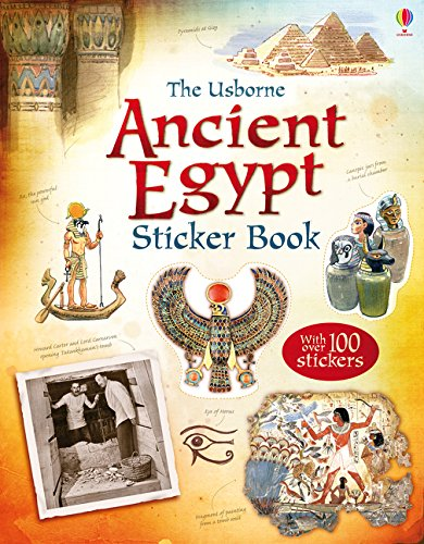 9781409586791: Ancient Egypt Sticker Book (Information Sticker Books)