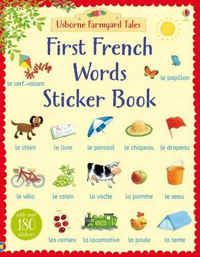 9781409586845: Farmyard Tales. First French Words Sticker Book (Farmyard Tales First Words Sticker)