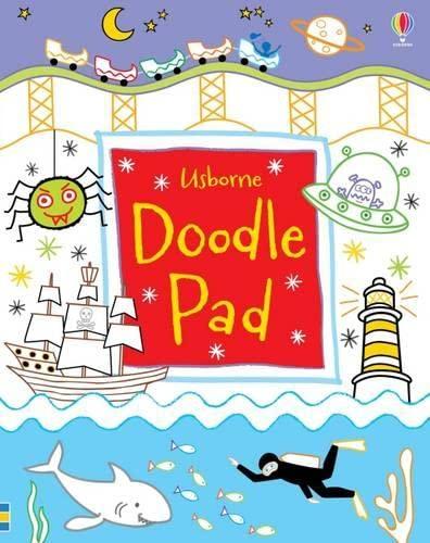 9781409586937: Usborne Doodle Pad
