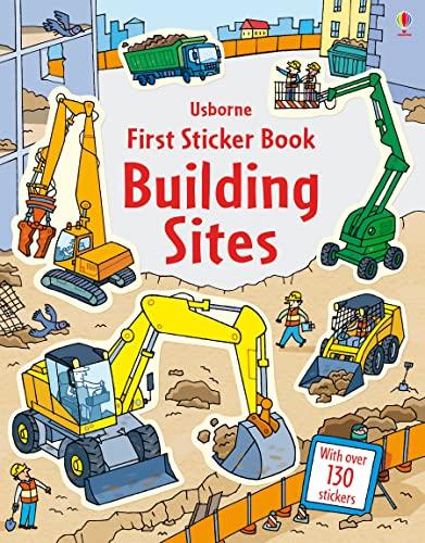 9781409587514: First Sticker Book Building Sites (First Sticker Books)