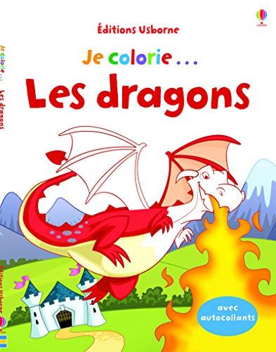 9781409588764: Je colorie... Les dragons
