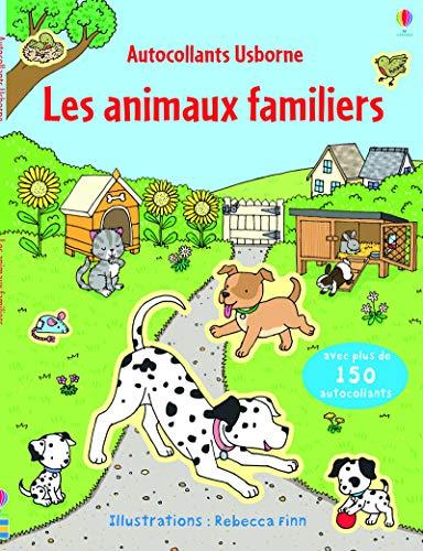 9781409588795: Les animaux familiers - Autocollants Usborne