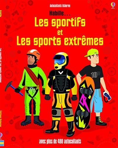 9781409589273: Habille... Les sportifs et les sports extrêmes - Autocollants Usborne