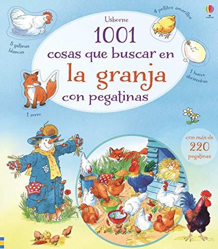 9781409589709: 1001 cosas que buscar en la granja con pegatinas