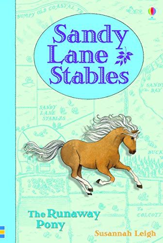 Sandy Lane Stables - The Runaway Pony (Hardcover): Susannah Leigh