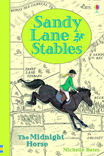 9781409590651: Sandy Lane Stables - The Midnight Horse (Young Reading Plus)