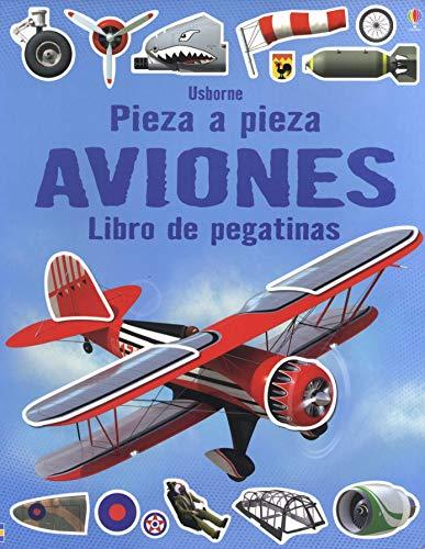 Pieza a pieza. Aviones. Libro de pegatinas: VV.AA.