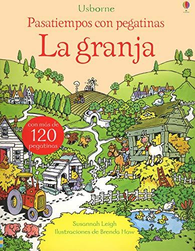 9781409592747: Pasatiempos Con Pegatinas. La Granja