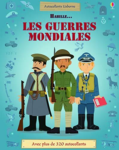 9781409594123: Habille... La Première et la Seconde Guerre mondiale - Autocollants Usborne