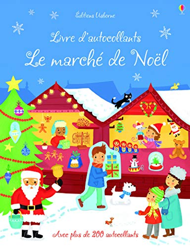 9781409594185: Le march� de No�l - Autocollants Usborne