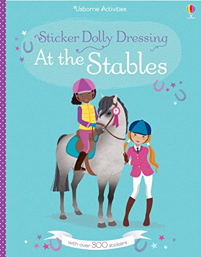 Sticker Dolly Dressing at the Stables (Paperback)